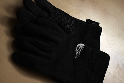 The North Face - rękawiczki windstopper'owe